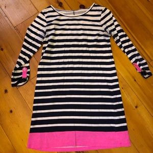Lilly Pulitzer striped dress small